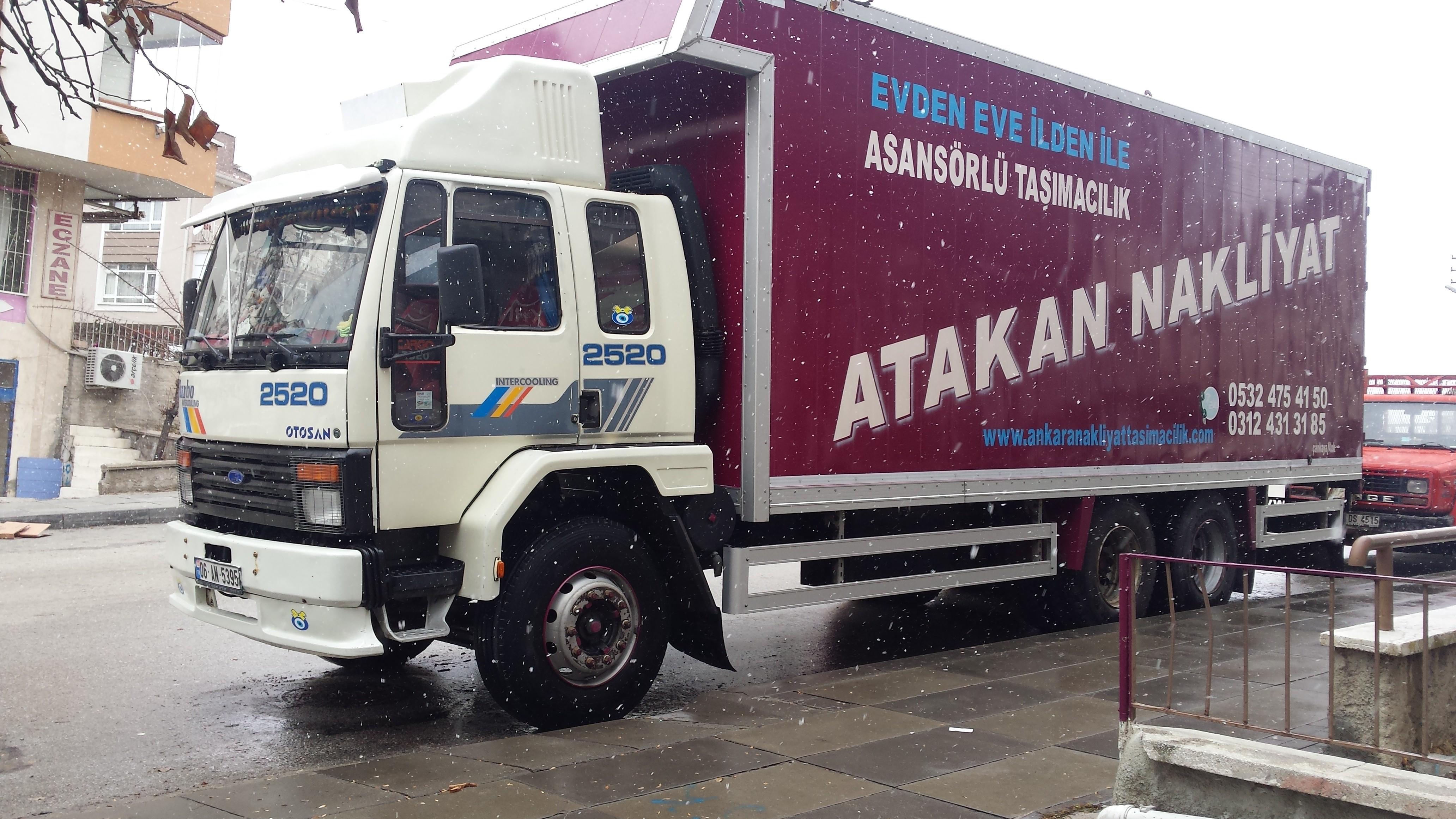 Ankara Evden Eve Eşya Taşımacılık Şirketleri