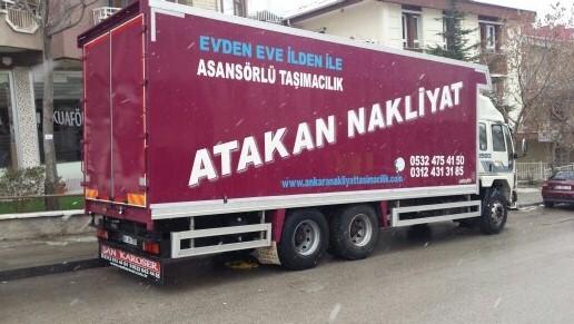 Çankaya Evden Eve Nakliyat Ankara